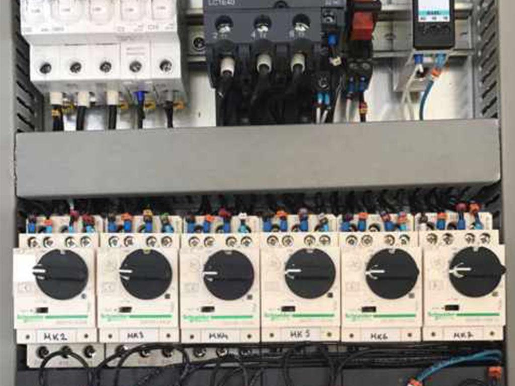 control panel 5